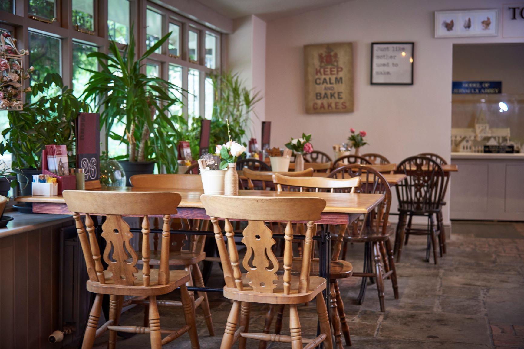 Indoor Tearooms