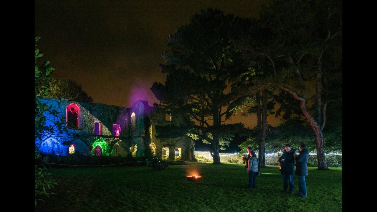 Jervaulx in lights